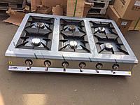 Görkem.Плита газовая настольная  6-х конфорочная Görkem PSO 60 (конфорки 300х300мм), фото 1