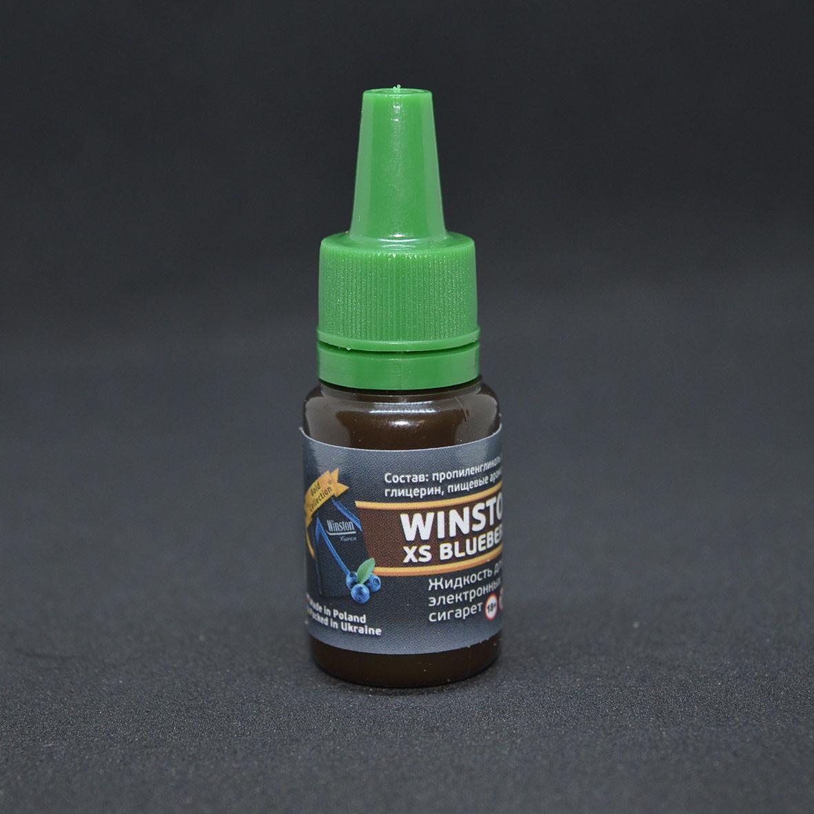 """Жидкость для электронной сигареты """"Winston XS Blueberry"""" 0мг/мл"""