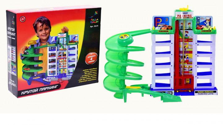 """Гараж 922R """"Крутий паркінг""""6 этажей Країна іграшок"""