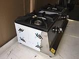 Görkem.Плита газовая настольная  2-х конфорочная Görkem GO 20 (конфорка 200х200), фото 3