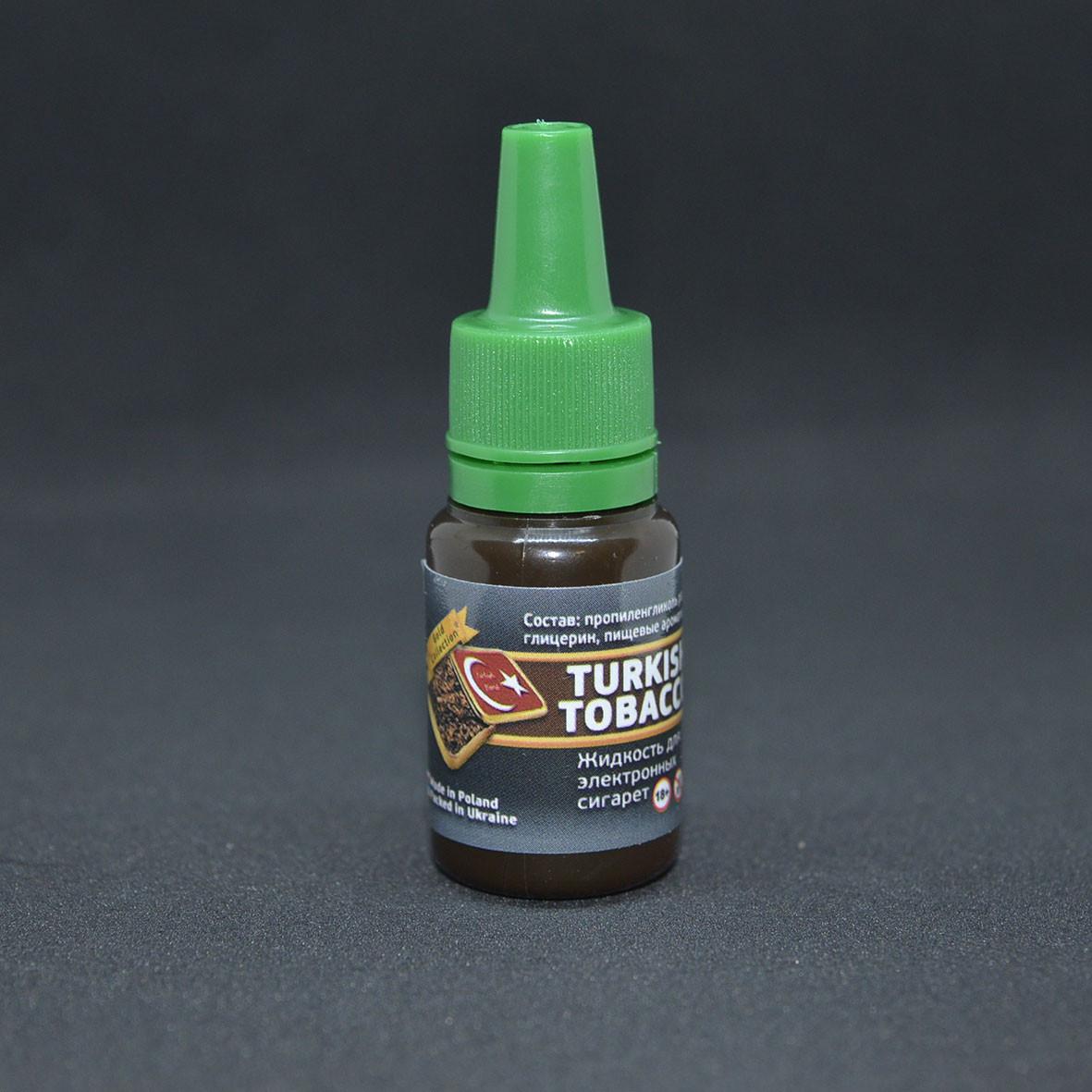 "Жидкость для электронной сигареты ""Turkish Tobacco"" 0мг/мл"