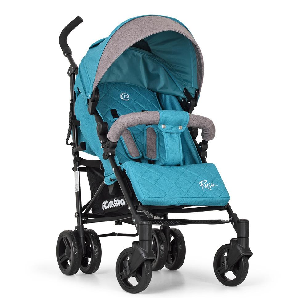 Детская прогулочная коляска-трость ME 1013L RUSH Turquoise Гарантия качества Быстрота доставки