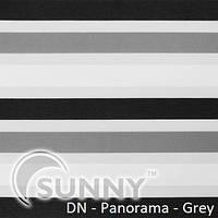Рулонные шторы для окон Sunny в системе День Ночь, ткань  DN-Panorama