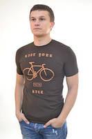 Мужская футболка с прикольным рисунком  от производителя