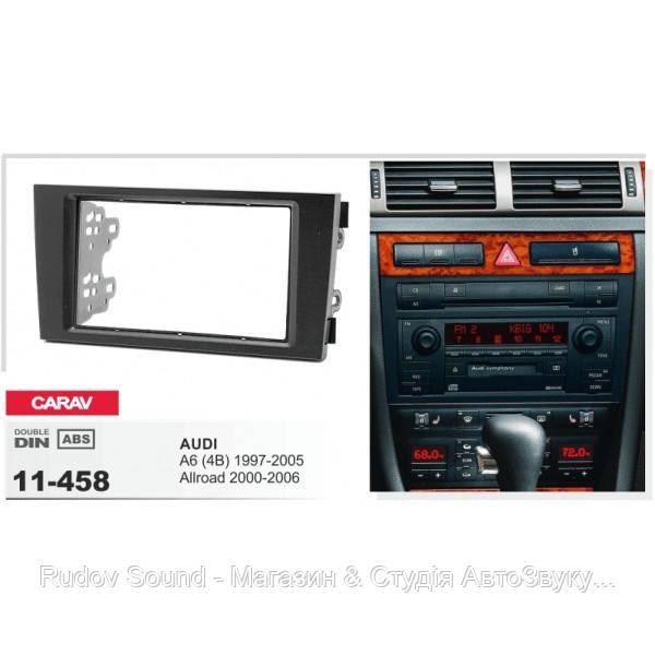 Перехідна рамка: Audi A6, Allroad | Carav 11-458