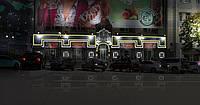 Фасадная архетиктурная подсветка  проект Золотой оскар, фото 1