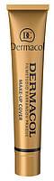 Тональный крем Dermacol Make-up Cover 207, 208, 209, 210, 211, 212, 213, 215, 218, 221, 222 ad, фото 1