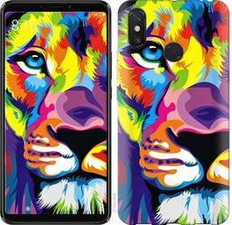 "Чехол на Asus Zenfone Max M2 ZB633KL Разноцветный лев ""2713c-1629-328"""