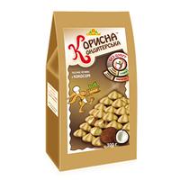 """Песочное печенье с кокосом """"Корисна Кондитерська"""", без сахара, 300 г"""