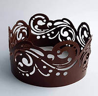 """Трафарет для создания шоколадного декора """"Ажур 70*9,5 см"""""""