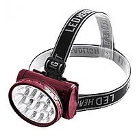Налобный аккумуляторный фонарь YAJIA YJ-1898  | фонарик на лоб