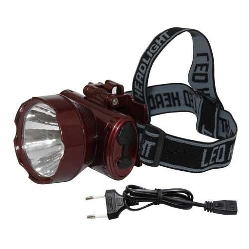 Налобный аккумуляторный фонарь YAJIA YJ-1898-1 | фонарик на лоб фонарь