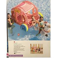 Детский надувной игровой центр 56514, Карета принцессы, 145-135-104 см
