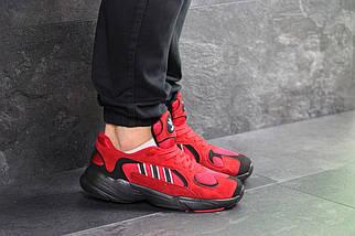 Мужские кроссовки мужские красные, фото 2