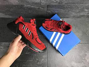 Мужские кроссовки мужские красные, фото 3
