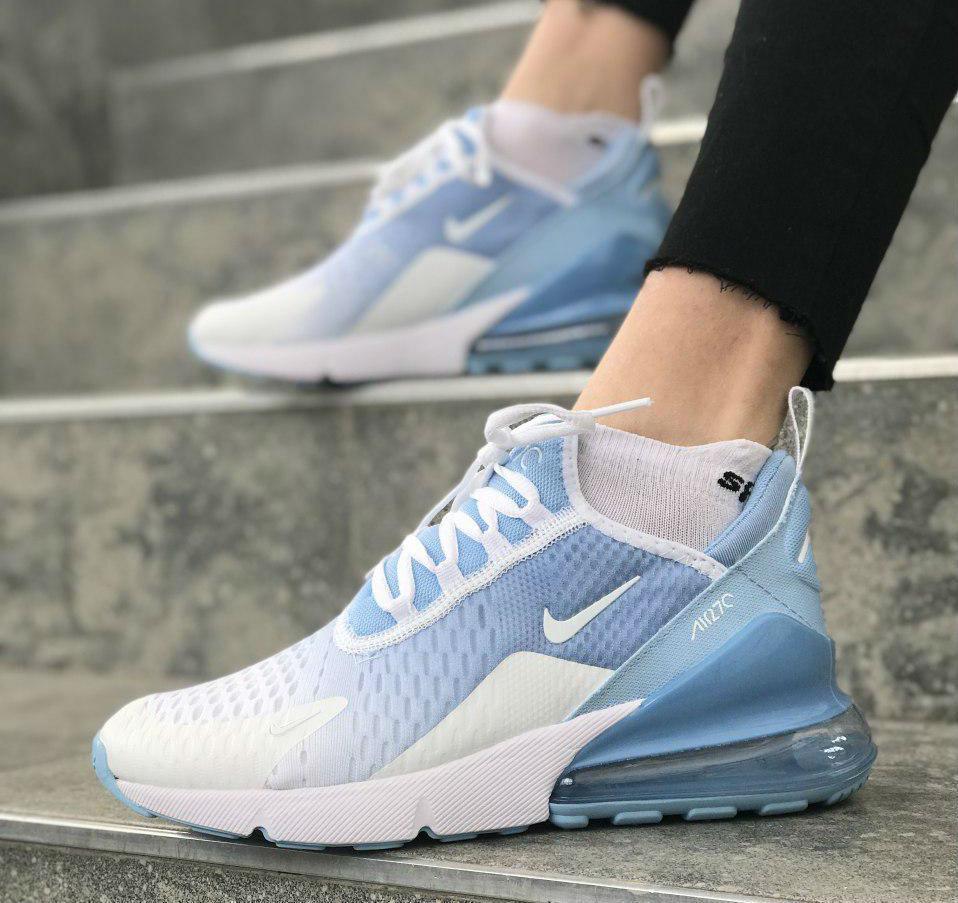 premium selection 94b95 33211 Nike Air Max 270 sky blue | кроссовки женские; летние; голубые