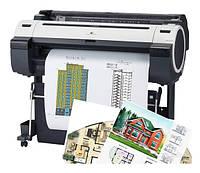 Печать чертежей (до А0 формата)