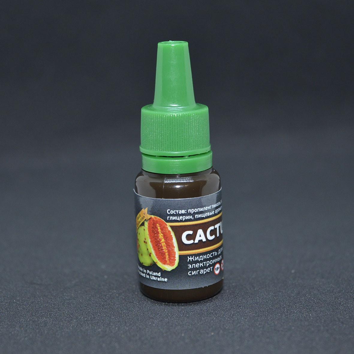 """Жидкость для электронной сигареты """"Кактус"""" 0мг/мл"""