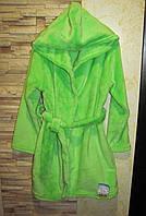 Детский махровый халат подросток, размер 34, 38