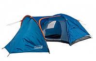 Туристическая палатка Coleman 1009 4-х местная. 2-х слойная. Тамбур