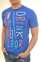 Мужская футболка с надписью  оптом и в розницу