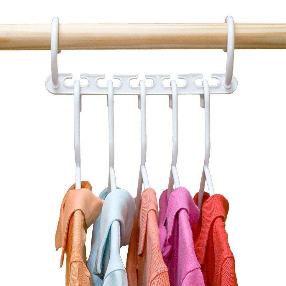 Универсальная складная вешалка для одежды Wonder Hanger | Уондер Хэнджер для экономии места