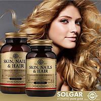 Комплекс витаминов 60 капсул для Кожи, Ногтей и Волос, Solgar,