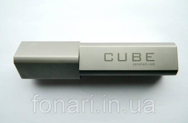 Фонарь XENO E11 CUBE V8 Cree XM-L2,  АА, 420 люмен Matt