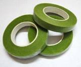 Тейп-лента для обмотки проволоки (стебельков) Зелёная