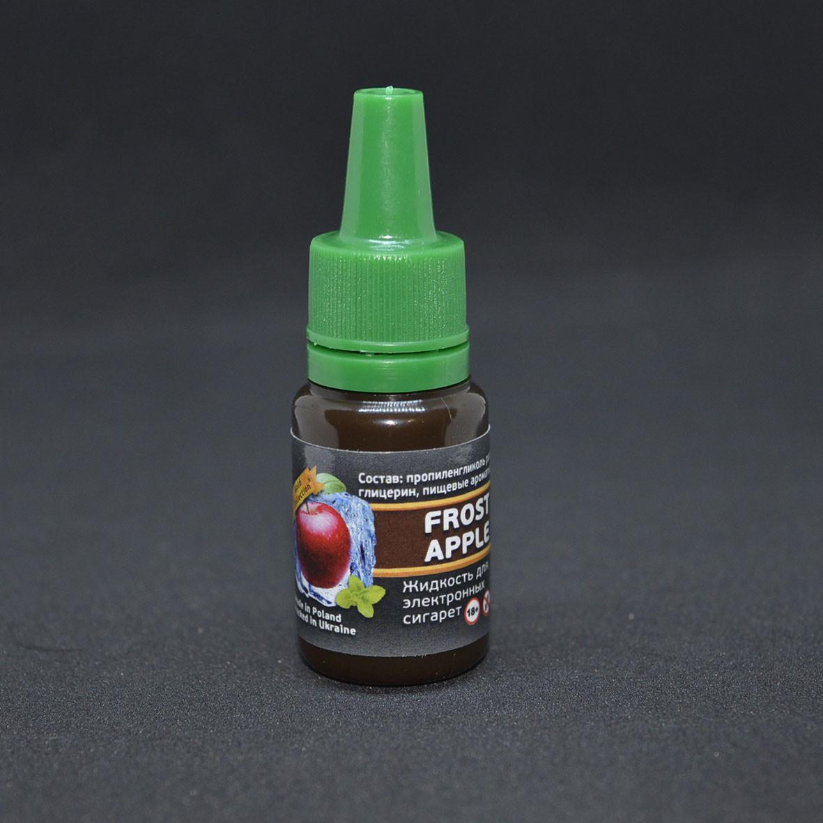 """Жидкость для электронной сигареты """"Ледяное Яблоко"""" 0мг/мл"""