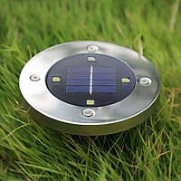 Наземный фонарь на солнечной батарее - Solar Underground Light 2 шт