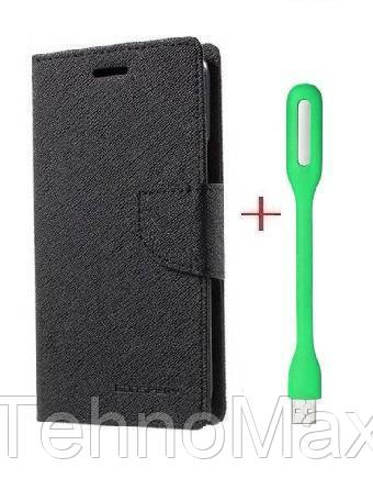 Чехол книжка Goospery для Samsung GALAXY ON7 + Мини Led-лампа USB (в комплекте). Подарок!!!
