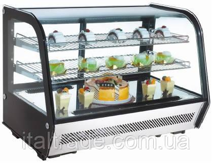 Витрина холодильная EWT Inox RTW-160L, фото 2