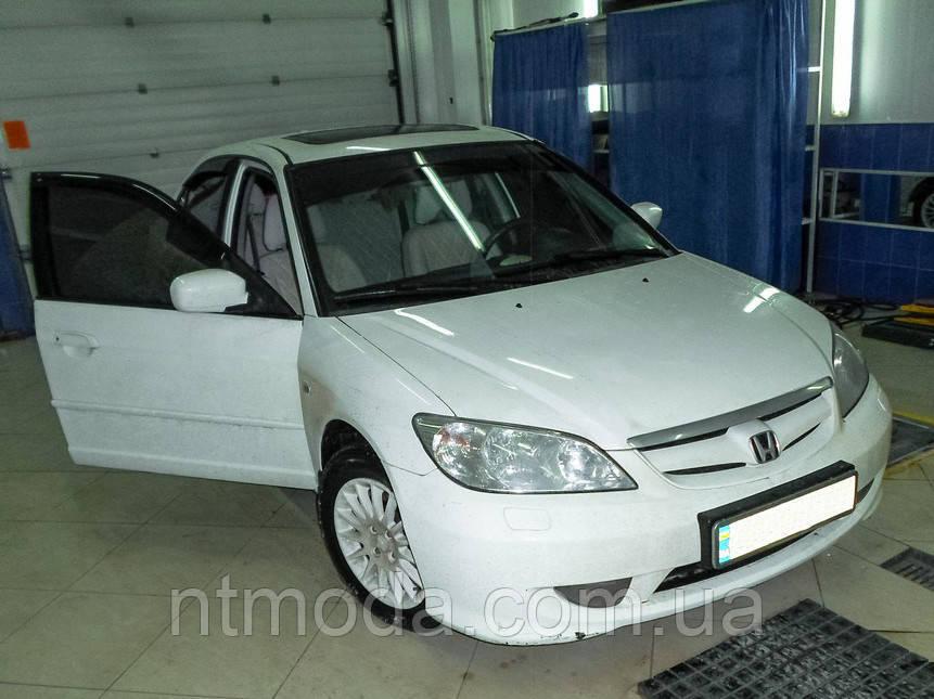 """HONDA Civic 7 """"Нубук"""" Модельные авточехлы MILLENNIUM"""
