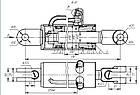 Гидроцилиндр Ц 80Х200-3 ВЗТА, фото 3