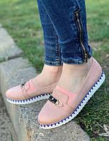 Туфли женские 8 пар в ящике розового цвета 36-41, фото 1