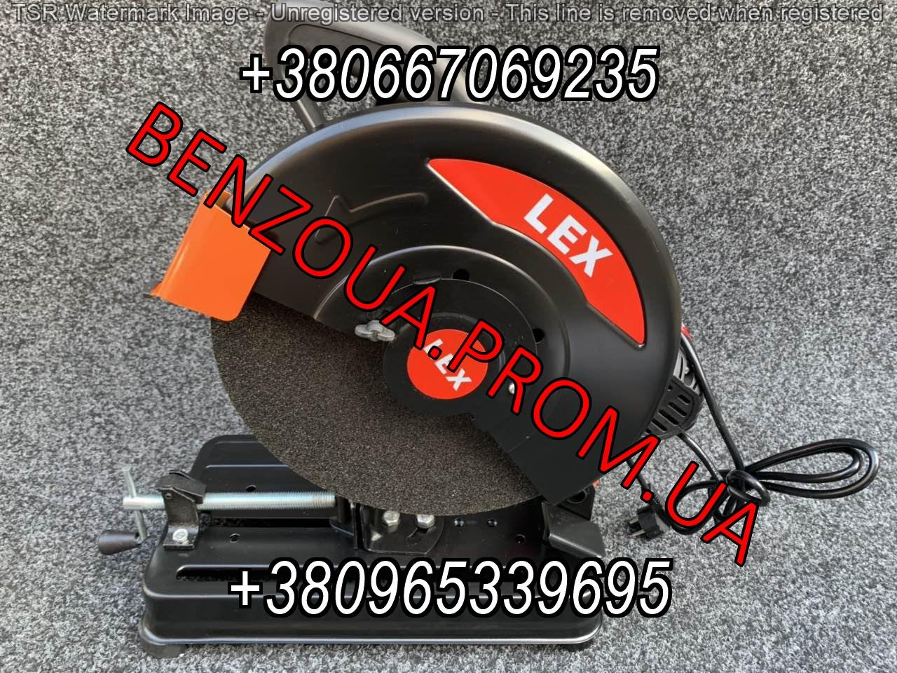 Металорез Lex 8011B 2900W 350mm ременной, труборез, монтажная пила