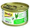 Корм ШайниКэт СуперФуд Shiny Cat SUPERFOOD консерва для котов с  курицей и травой 70 г