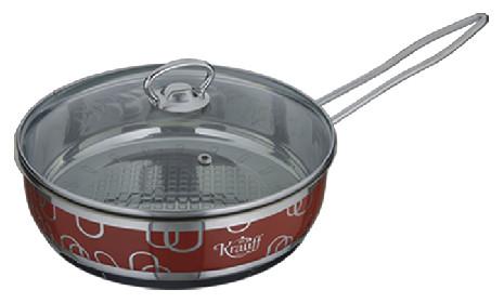 Сковорода без покрытия 24 см 2,7 л KRAUFF 26-158-013 - Mini-Cena - интернет магазин посуды и бытовой техники  в Луцке