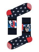 Мужские цветные носки с героями Marvel Марвел, DIWARI Дивари