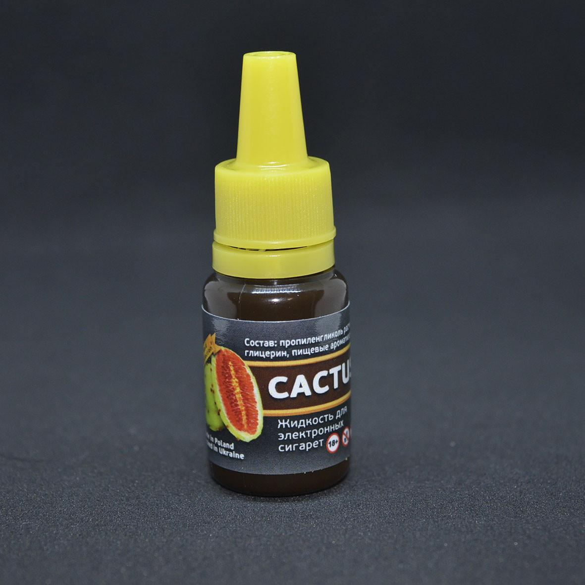 """Жидкость для электронной сигареты """"Кактус"""" 6мг/мл"""