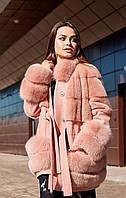 Пальто с натуральным мехом под заказ