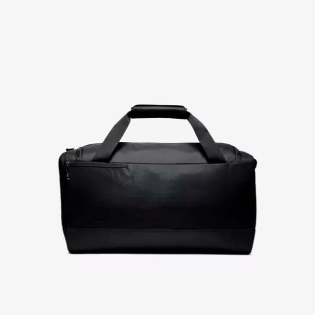 Мужская сумка для тренировок Nike Vapor Power | черная вид сзади