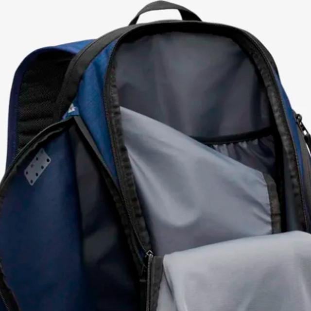 Мужская сумка для тренировок Nike Vapor Power | черная.  Фото главного отделения сумки