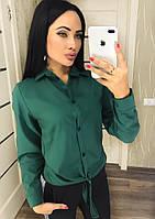 Блузка-рубашка на пуговицах