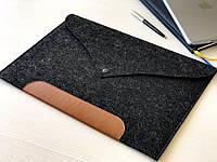 Универсальный чехол из фетра для планшета / ноутбука 11'' - 13'' Classic Black
