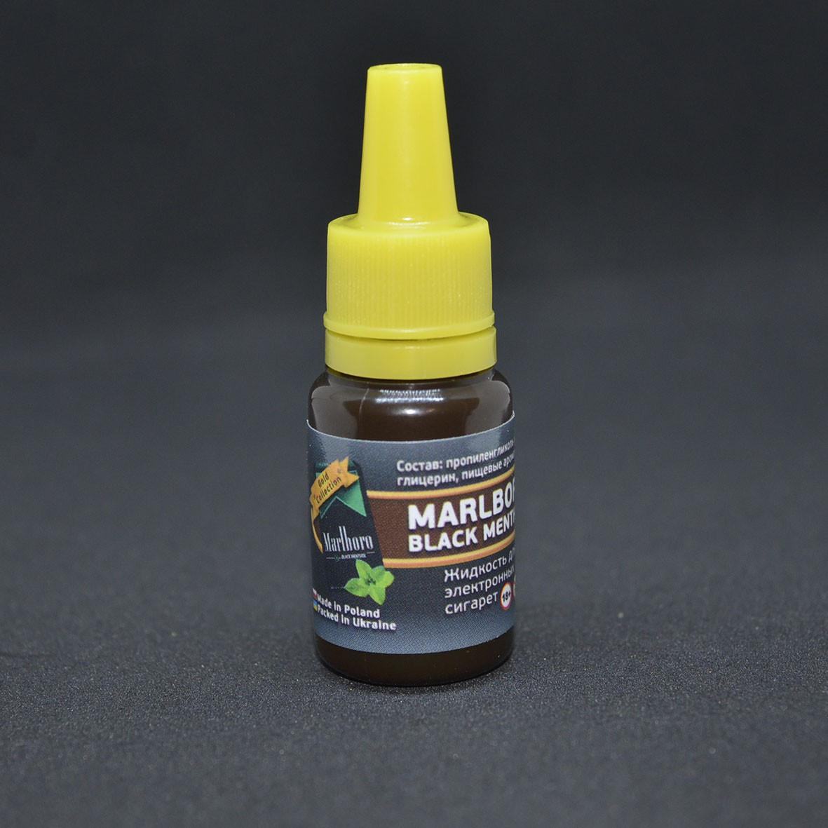 """Жидкость для электронной сигареты """"Marlboro Black Menthol"""" 6мг/мл"""