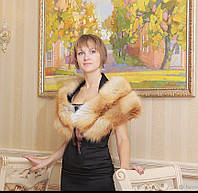 Палантин из меха лисы, фото 1