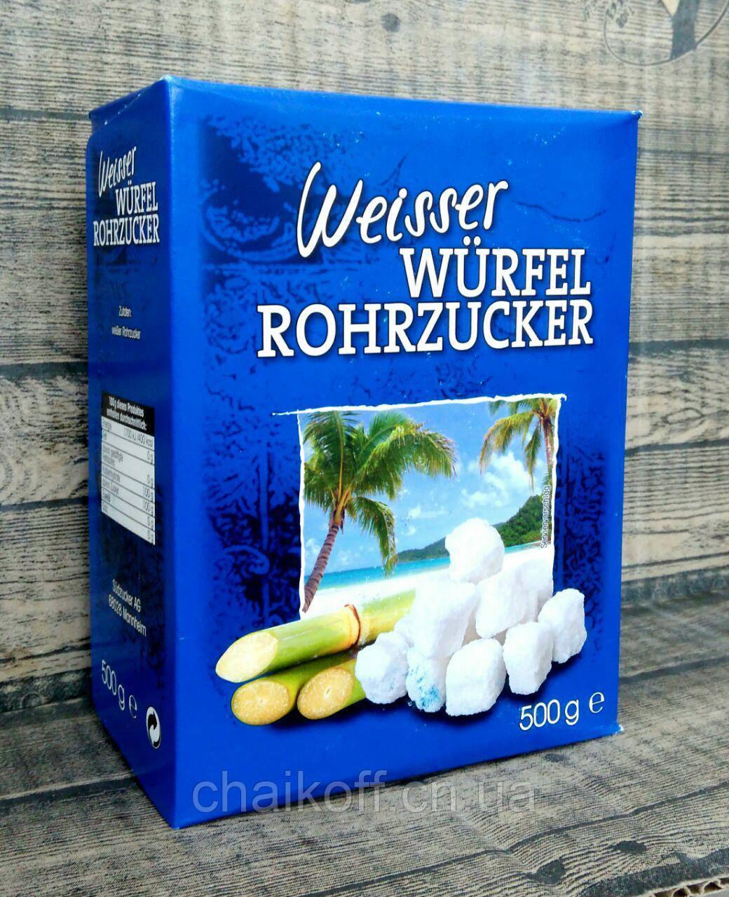 Сахар тростниковый белый Weisser Würfel Rohrzucker 500 г  (Германия)