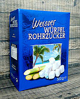 Сахар тростниковый белый Weisser Würfel Rohrzucker 500 г  (Германия), фото 1